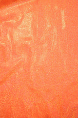 UV Orange Sparkly Jewel Fabric - Coquetry Clothing