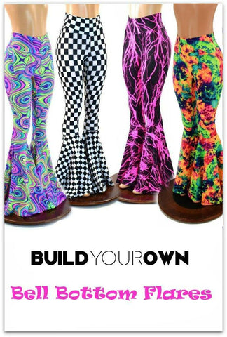 Build Your Own Bell Bottom Flares - Coquetry Clothing