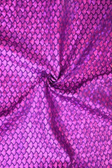 Purple Fish Scale Fabric - Coquetry Clothing