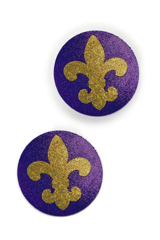 Fleur De Lis Pasties - Coquetry Clothing