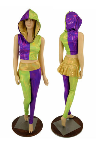 2PC Mardi Gras Set - Coquetry Clothing