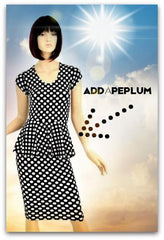 Add a Peplum - Coquetry Clothing