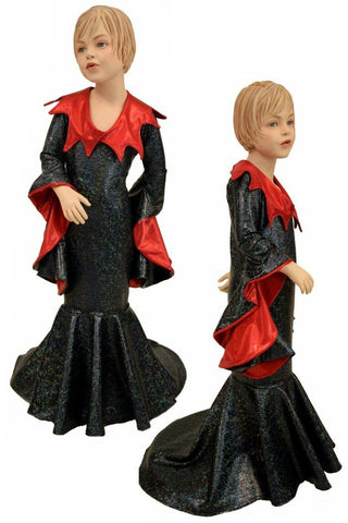 Girls Demonica Sorceress Sleeve Gown - Coquetry Clothing