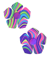 Glow Worm and Grape Holographic Buttercup Pasties - Coquetry Clothing