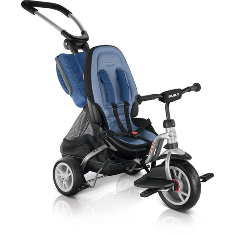 PUKY ceety CAT S6 Tricycle Silver