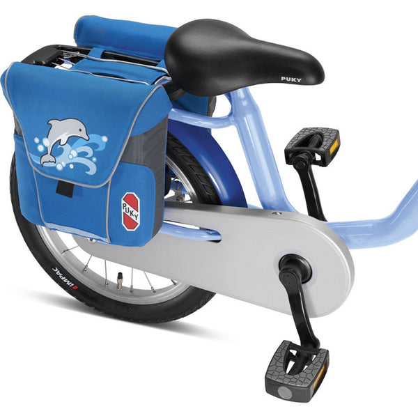 PUKY Double Panniers for Bicycles - Ocean Blue