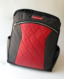 **The Lauren Convertible Backpack to Tote (MotoChic... Black, Red or White)