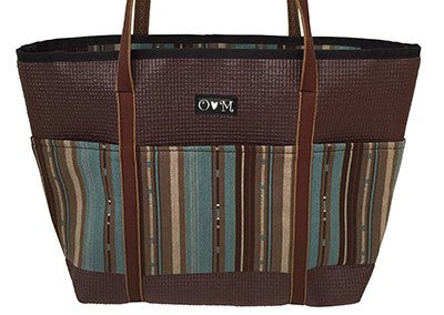 -Molly Brown Lines Tote Bag