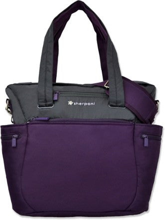 Nuvie Plum Tote/Purse/Bag