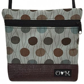 LOLA Brown Dots Purse