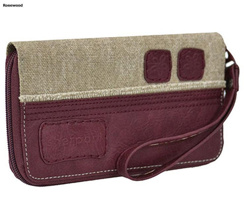 *Breeze Accordion Wallet/Clutch Purse