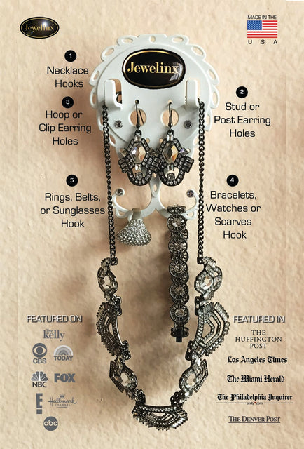 The Ultimate Patented Jewelry Organizer and Outfit Planner
