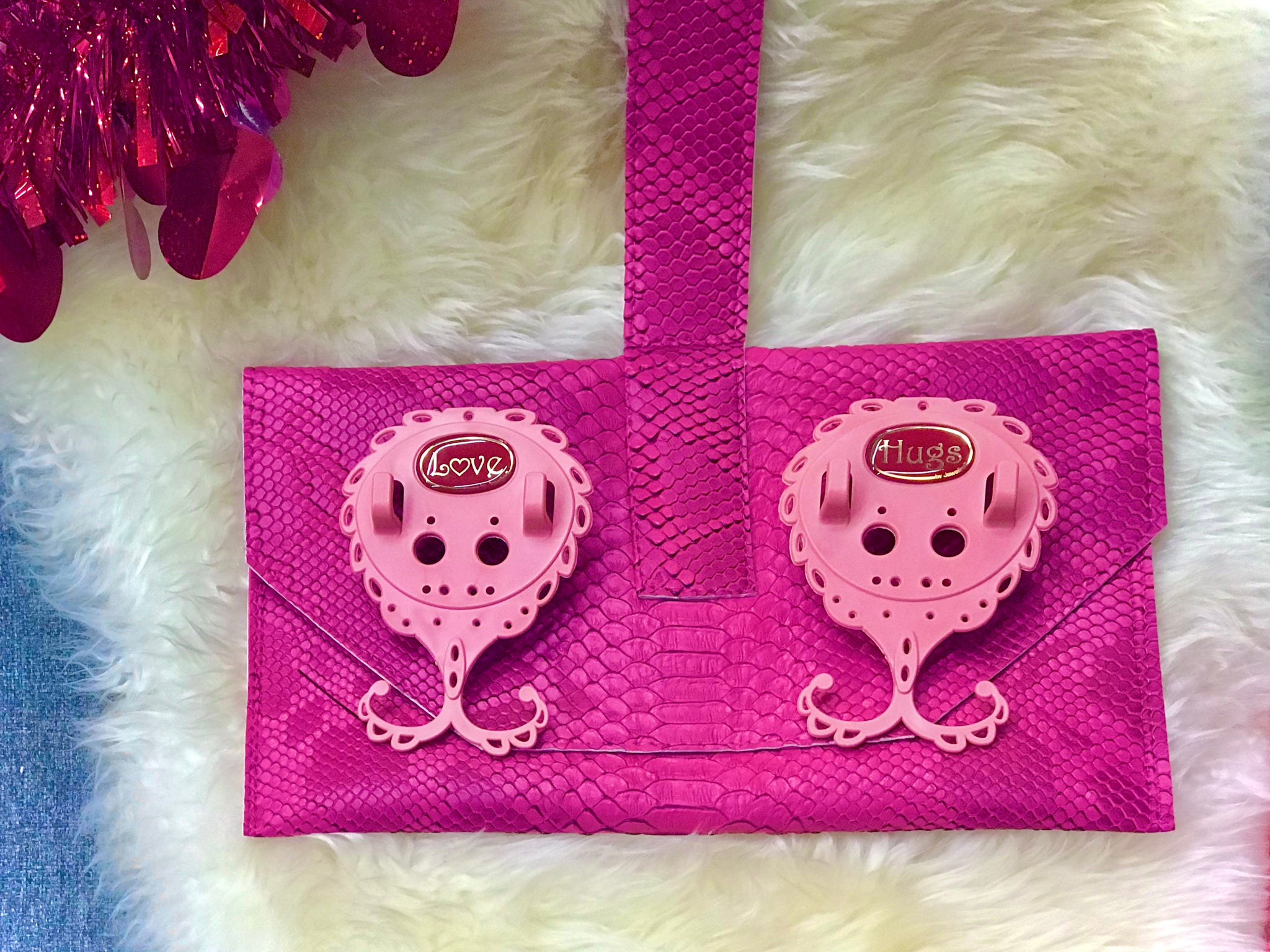 Valentine's pink Jewelinx + wristlet Special Offer