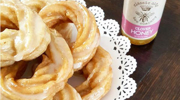 French Crullers with Honey Glaze