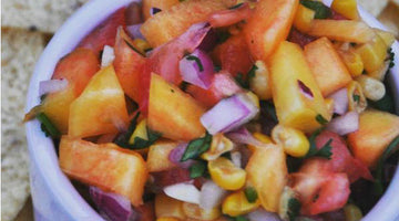 Honey Peach Salsa