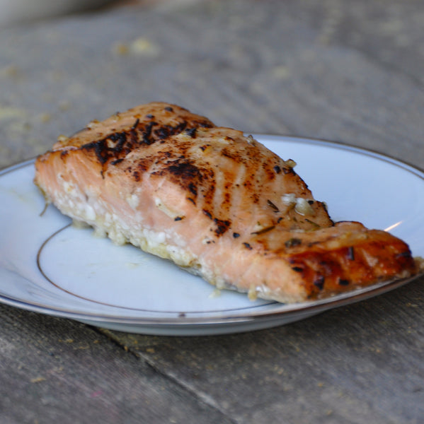 Honey Glazed Rosemary Salmon