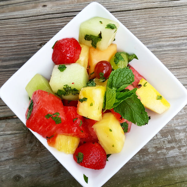 Summer Honey and Mint Fruit Salad