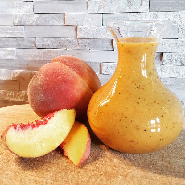 Grilled Peach and Honey Vinaigrette