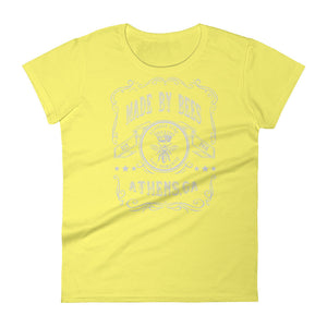"""Made By Bees"" Vintage Women's T-Shirt - Classic City Bee Company"