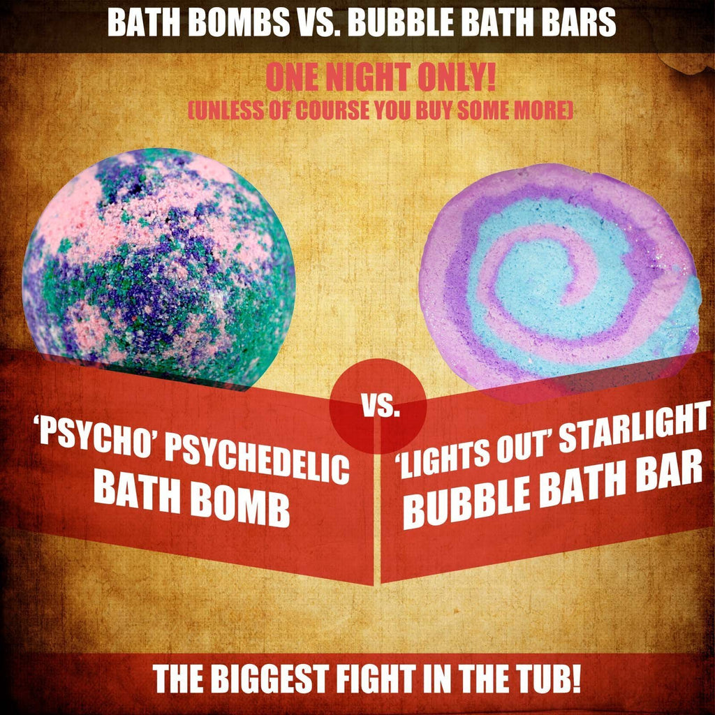 Bath Bombs Vs Bubble Bath Bars