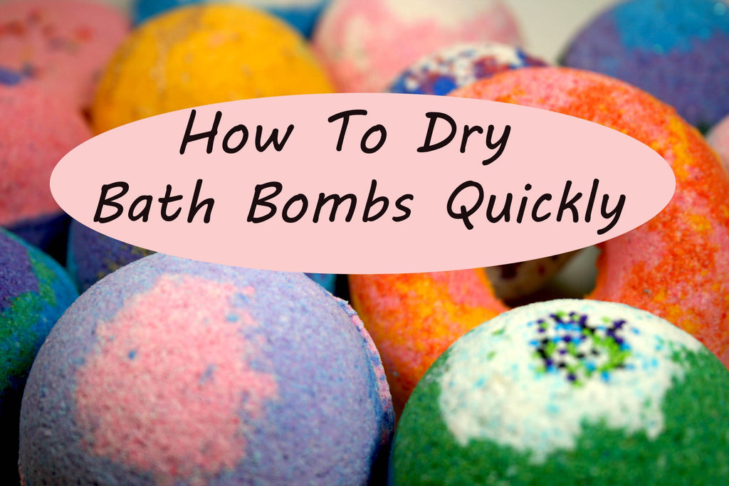 How To Dry Bath Bombs (Quickly!) – Soakey Dokey