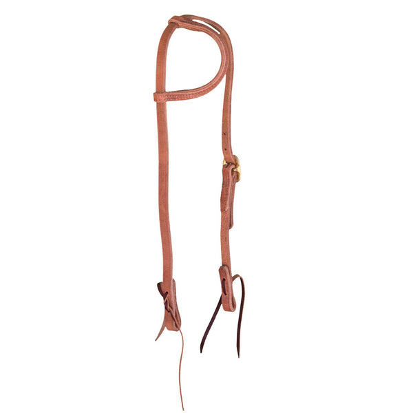 One Ear Leather Headstall Harness Leather