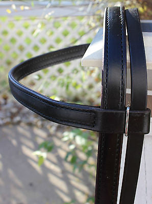 Large Draft Billy Cook Headstall-Black - Sterling Steed Enterprises - 5