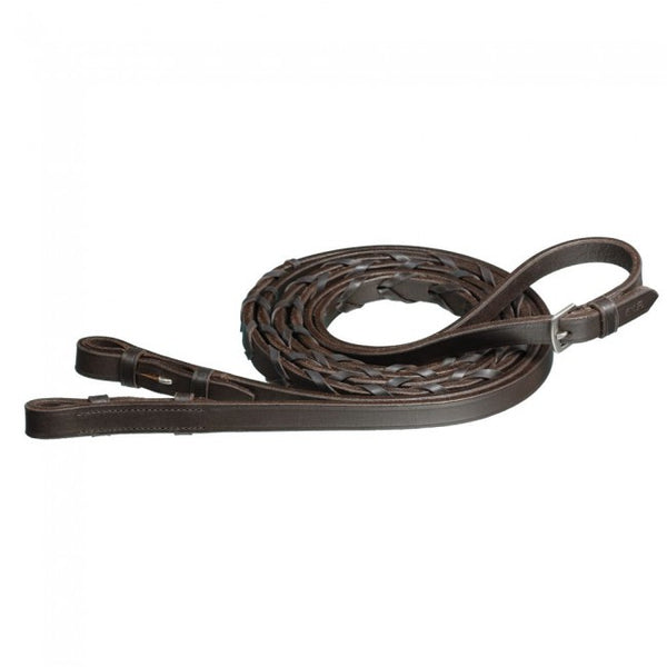 "60"" English Leather Laced Reins"