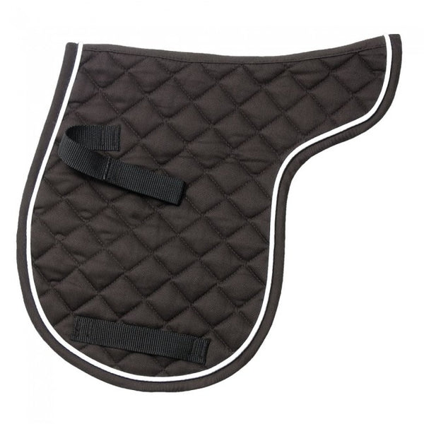 English Saddle Pad-EquiRoyal Miniature Contour Quilted Comfort Saddle Pad