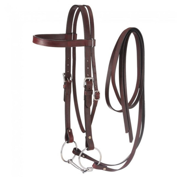 Large Draft Horse Headstall, Bit and Reins Set- - Sterling Steed Enterprises