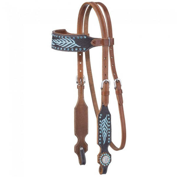 The Keely Collection Western Set- Hand Painted with Turquoise fringe