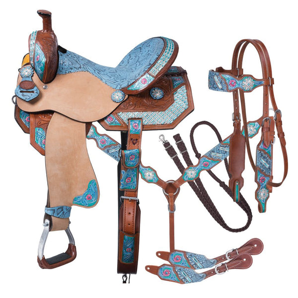 Macaelah Collection-5 Piece Saddle Package or individual Pieces