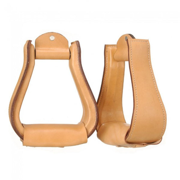 Leather Covered Stirrups - Sterling Steed Enterprises