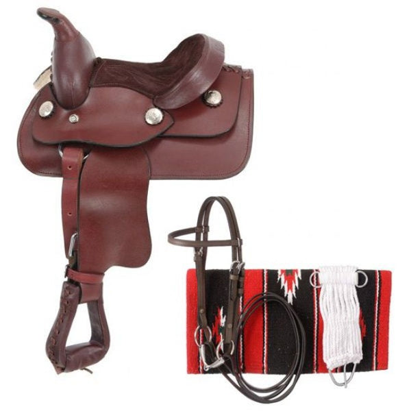 Western Saddle Package- Miniature Horse Western Saddle Package