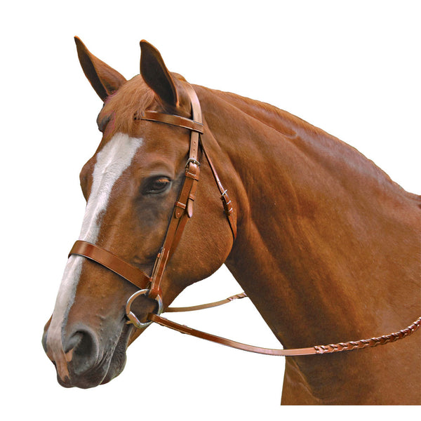 Traditional Fox Hunt Bridle-Oak Bark