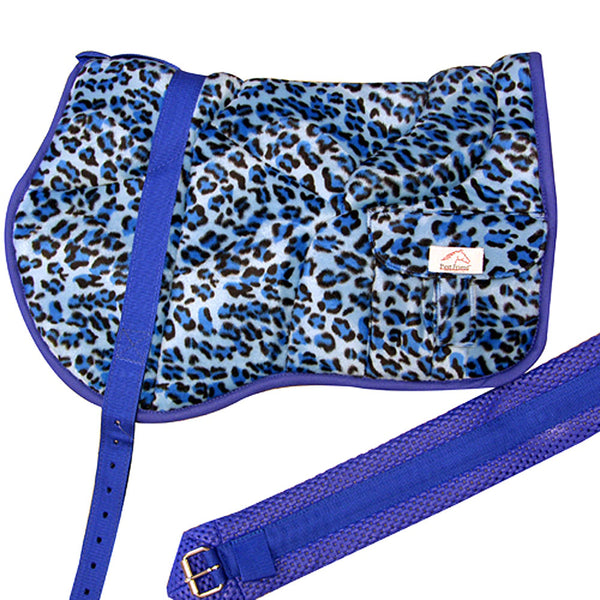 Best Friend Western Bareback Pad Faux Color Leopard