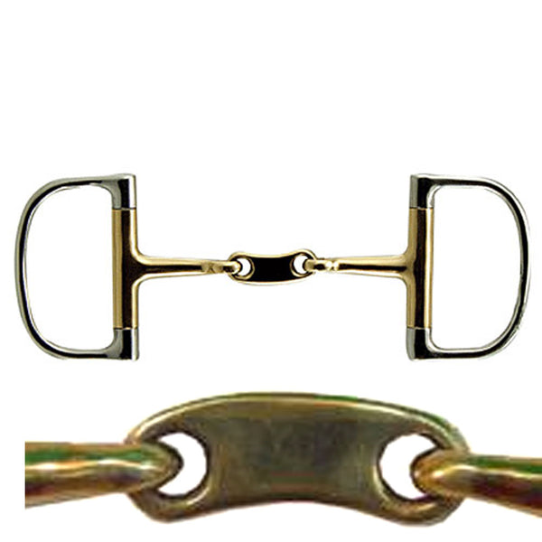 D-Ring Cyprium Snaffle with Bean Bit