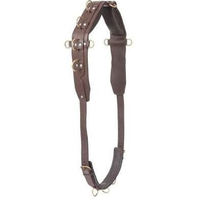 Warmblood-1st Choice Pro Heavy Leather Surcingle - Sterling Steed Enterprises