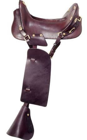 Royal King McClellan Replica Cavalry Saddle - Sterling Steed Enterprises