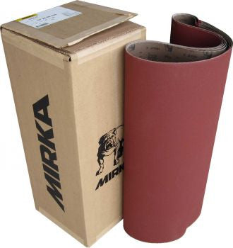 "Mirka Hiolit X Cloth Wide Sanding Belt  - 16"" Wide x 48"" Long"
