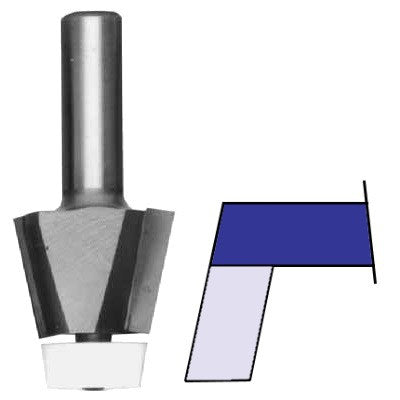 Whiteside Bevel Undermount Bowl Router Bits