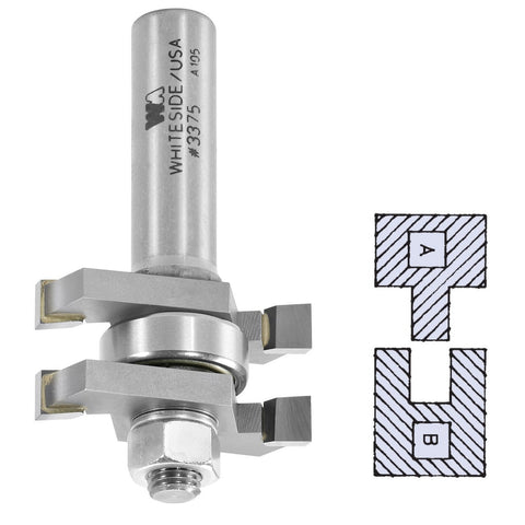 Whiteside Tongue & Groove Assembly Router Bit