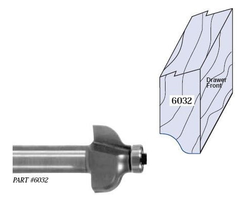 Whiteside Drawer Edge Finger Pull Router Bits