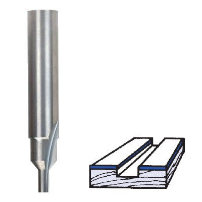 Whiteside Solid Carbide Flat Bottom Veining Bits