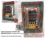 Magnetic Motor Starter Single Phase or 3 Phase 208-240V