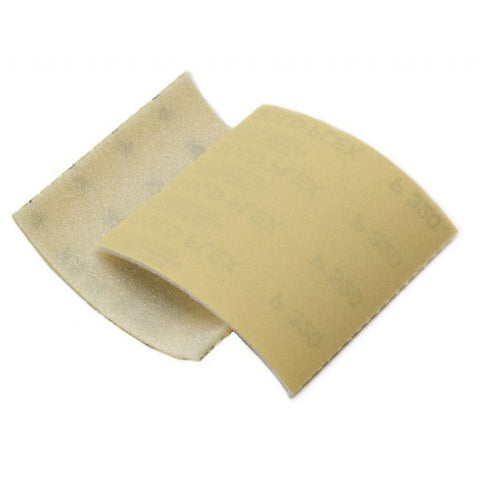 "Mirka Gold 4-1/2"" x 5-1/2"" Goldflex Soft Abrasive Pad 200ct"
