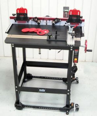 JessEm Mast-R-Lift Excel II Premium Router Table Package with Clear Cut Guides