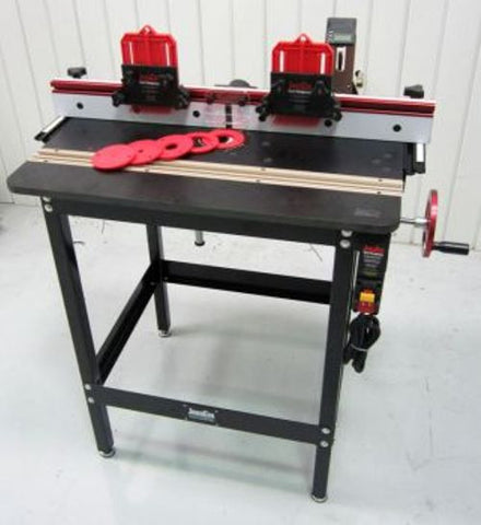 JessEm Mast-R-Lift Excel II Deluxe Router Table Package w/Digital Readout