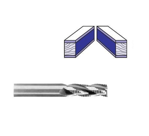Whiteside Solid Carbide Roughing Spiral Router Bits (Hoggers)