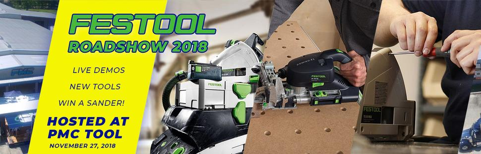 Festool Roadshow 2018
